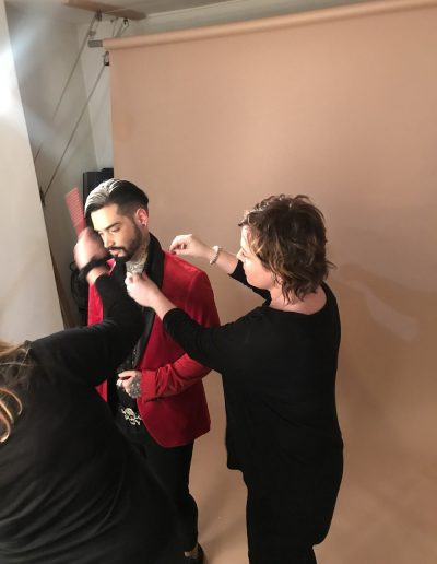 Fashion Styling L'oreal Shoot